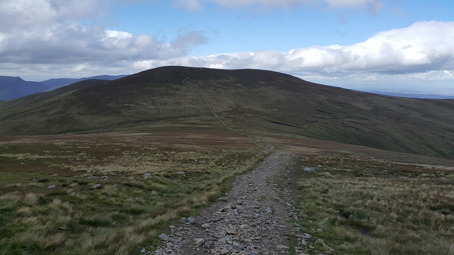 The last Dodd in the distance before the mountain behind.