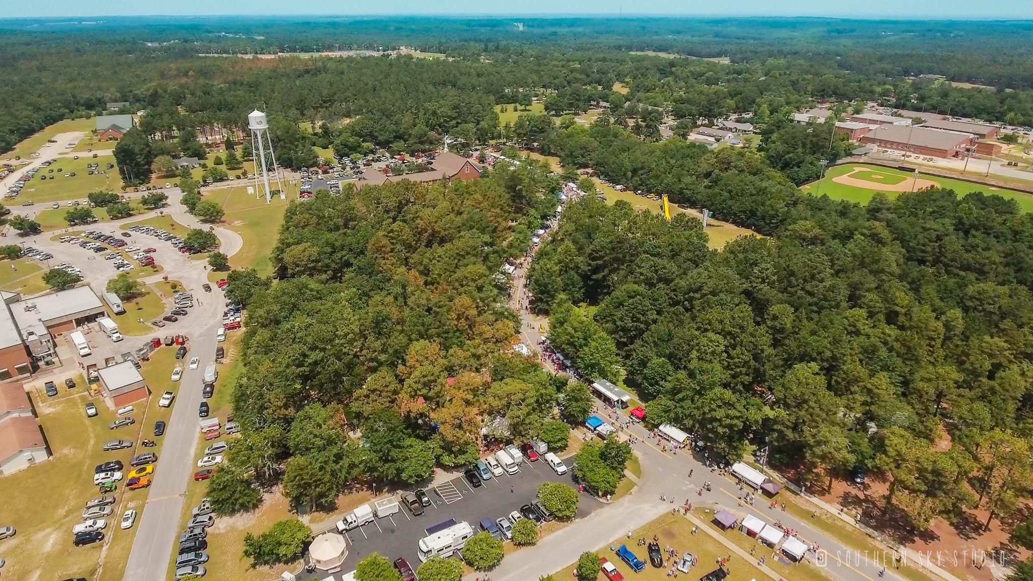 Photo Credit: Southern Sky Studio. The Lexington County Peach Festival at Gilbert Community Park. July 4, 2017.