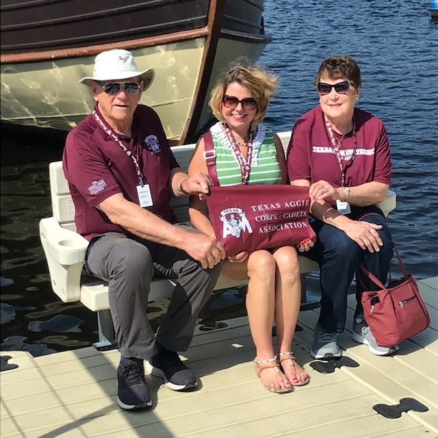 Harvey Haas - Rhein River Cruise (Boat ride on the Titi Lake in the Black Forest  - Harvey Haas '59, Jennifer Bohac '87, & Erna Haas, July 2019.JPG