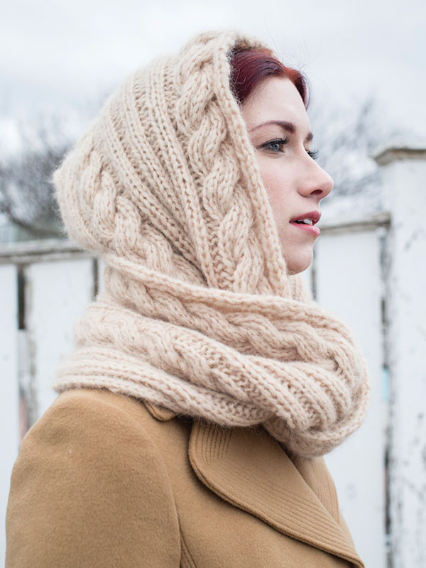 Lituya hooded cowl