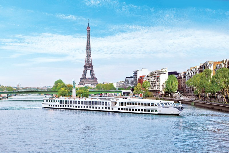 The River Baroness captures the essence of the French joie de vivre, and chic, sophisticated flair.  Photo courtesy of Uniworld Boutique River Cruise Collection