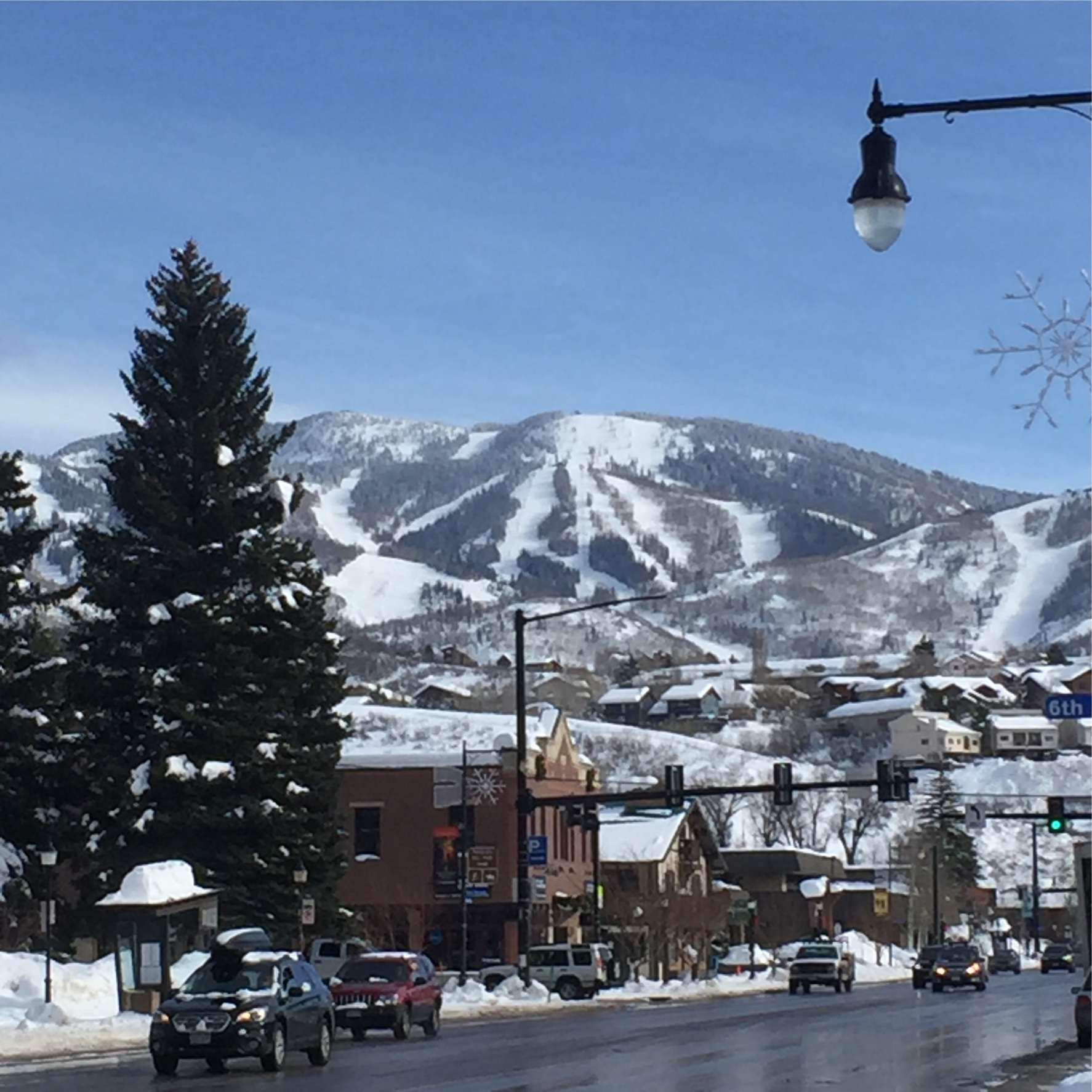 Steamboat Springs   is a charming Western town with boutique shopping. Spend a couple hours strolling up and down the main street.