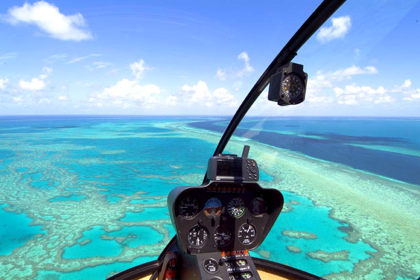 Great Barrier Reef   (photo credit Hamilton Island Enterprises)