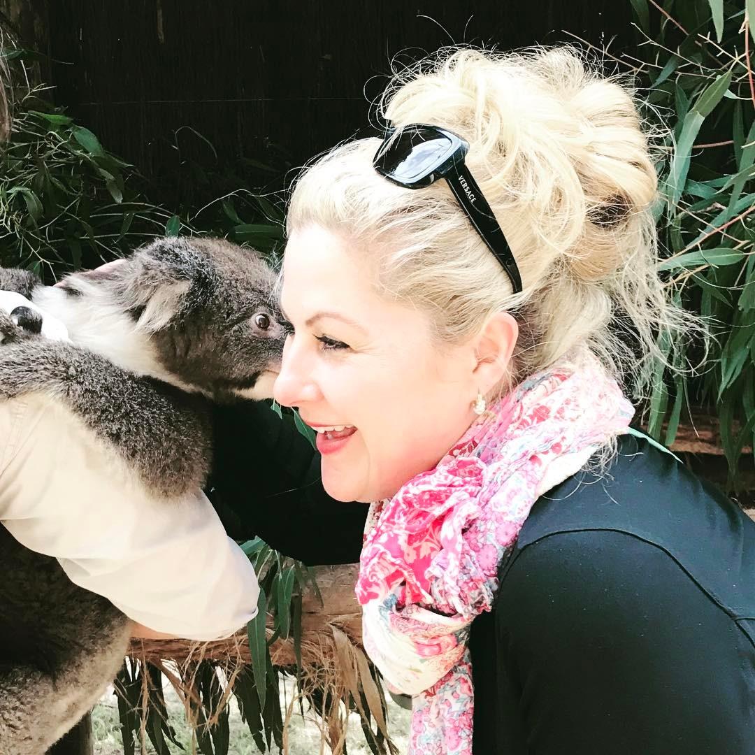 Kisses from Harvey the Koala at   Ballarat Wildlife Park