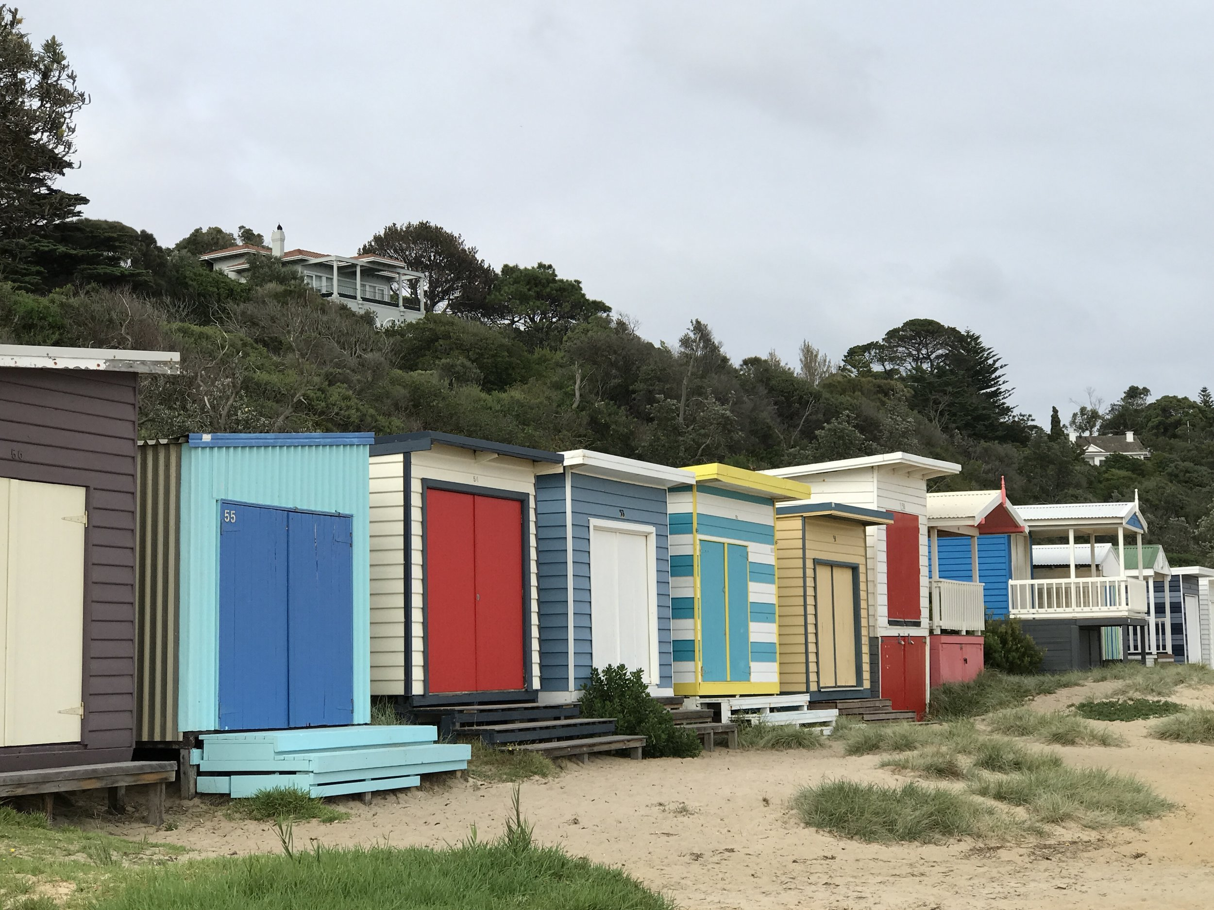 The   Bathing Boxes
