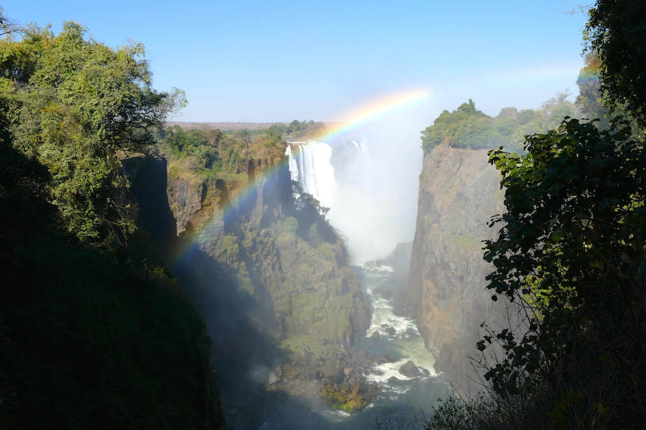 Victoria Falls, Zimbabwe. Photo Credit: Gavin Ford of Africa Inscribed