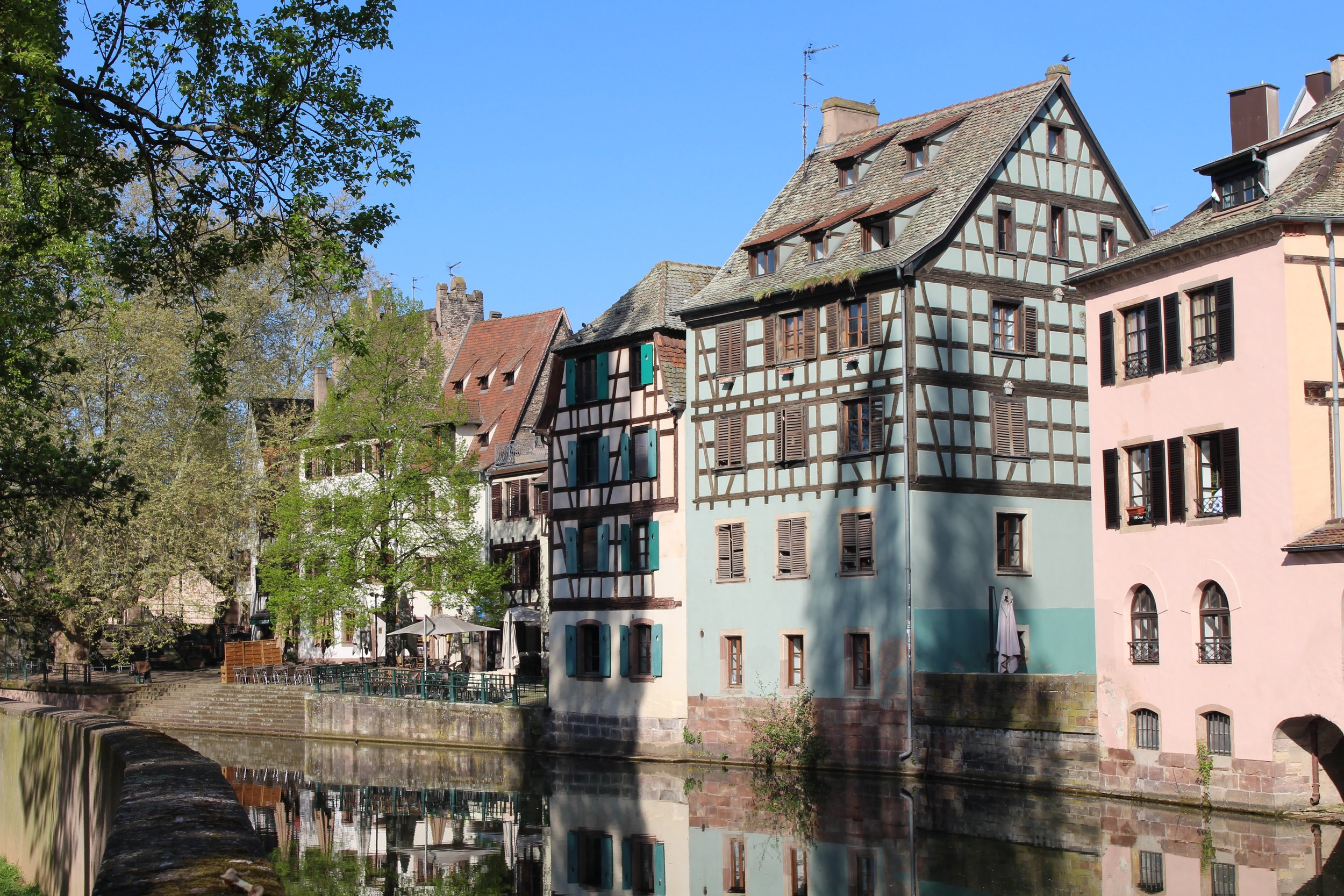 Beautiful half-timbered homes