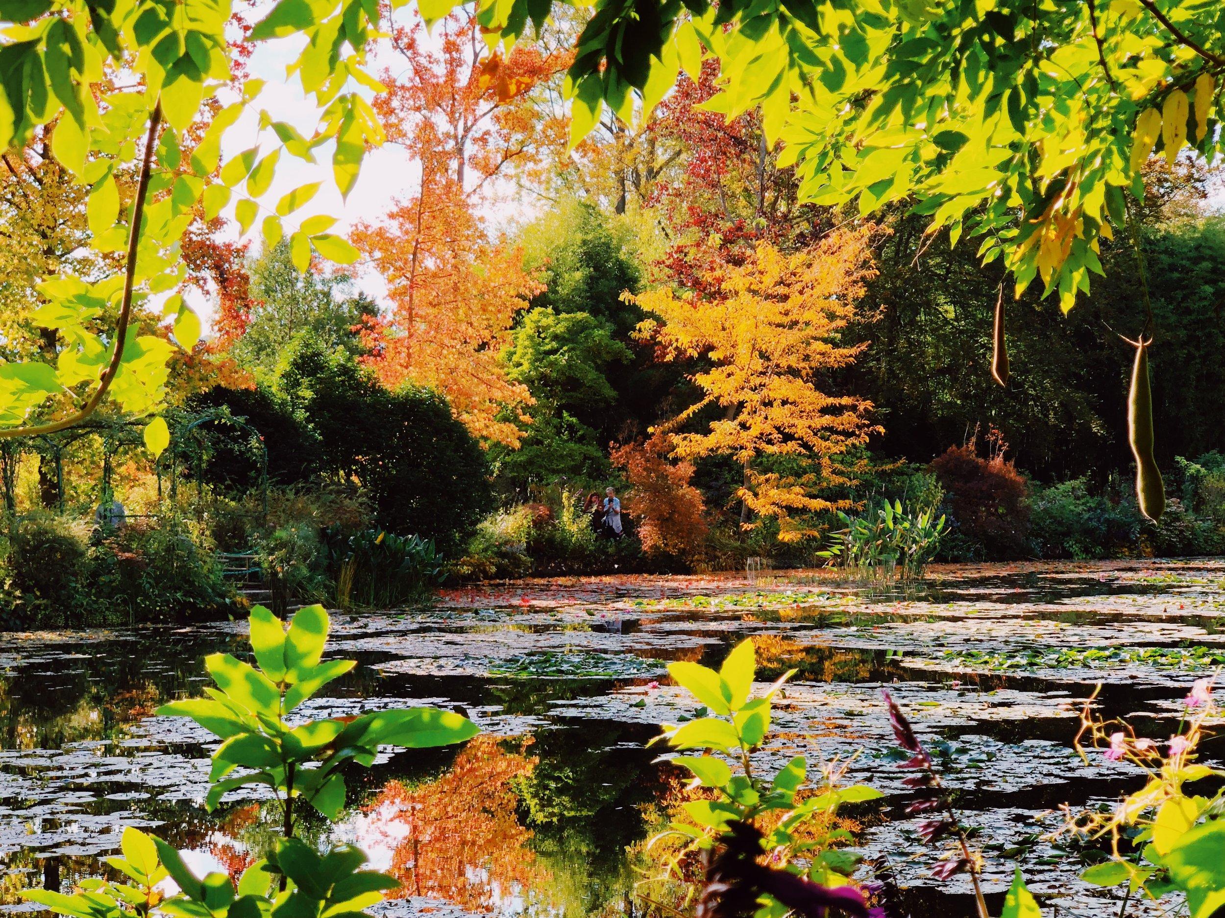 Europe is fantastic in autumn.