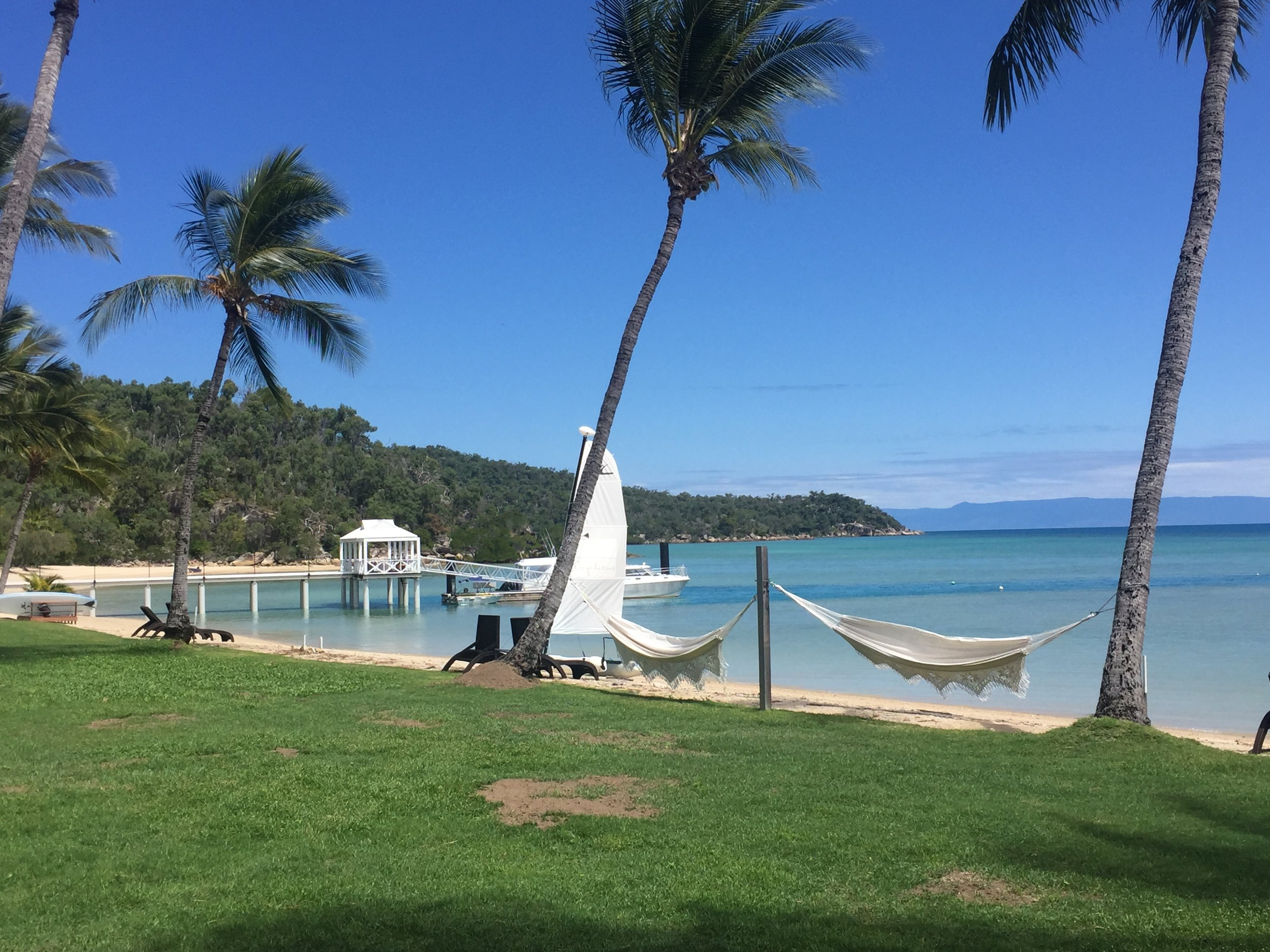 Lounge on the beach