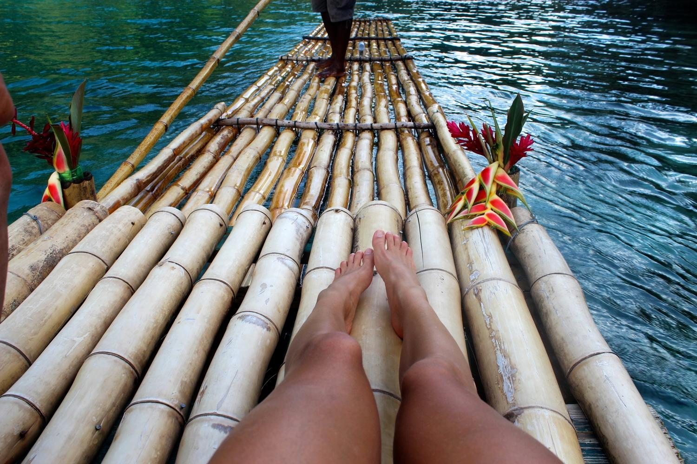 blue lagoon raft