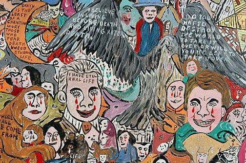ArtBeat // Howard Finster - American Folk Artist