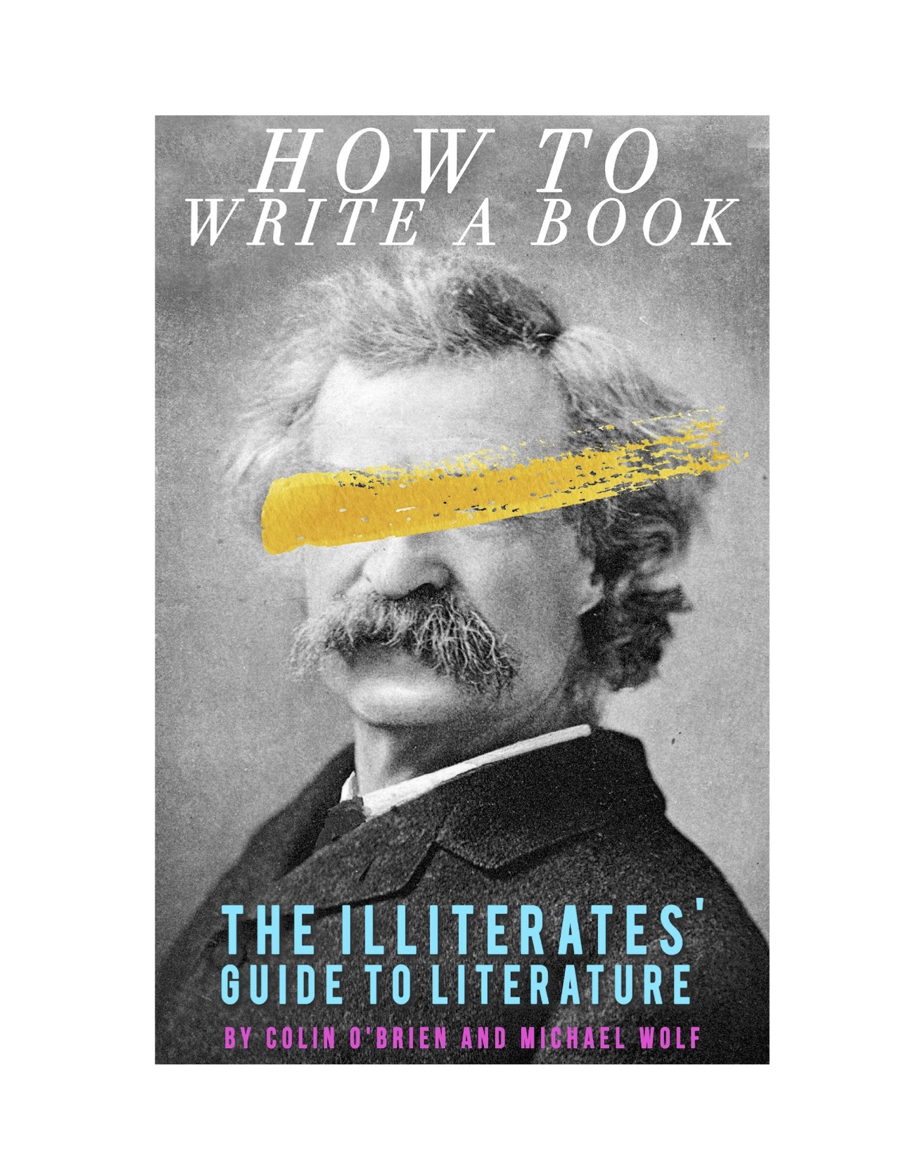 LITERATI presents A BOOK! - How To Write A Book is the ultimate fake guide to the literary world that you can read to procrastinate writing your shitty novel. Chock full of tips and tricks about writing, reading, publishing and getting out of talking to Jonathan Franzen at parties