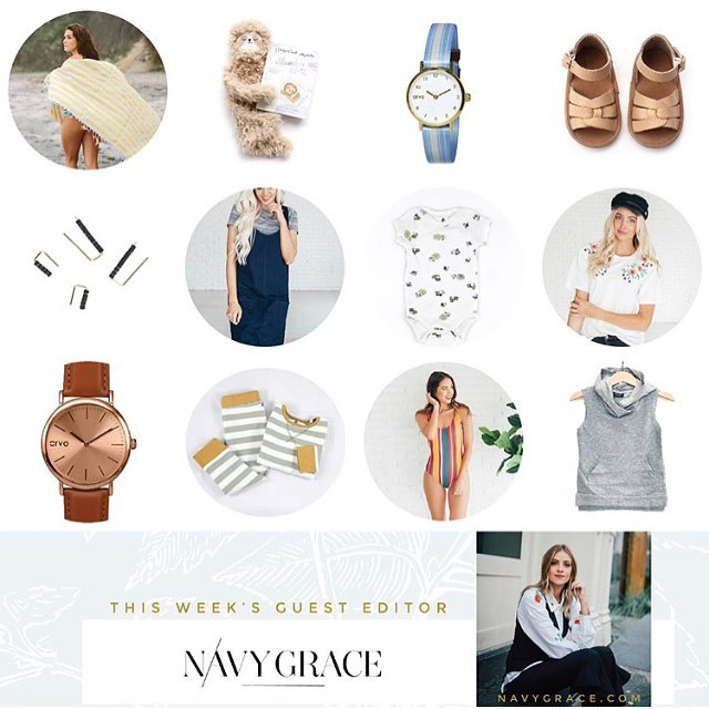 See anything you like?! @navygraceblog has some awesome products picked out to share during her Guest Editor week @brickyardbuffalo and we are honored to be in the mix! Get great deals on lots of products, including our own organic jammies for the wee ones in your life ❤️ . Check out brickyardbuffalo.com