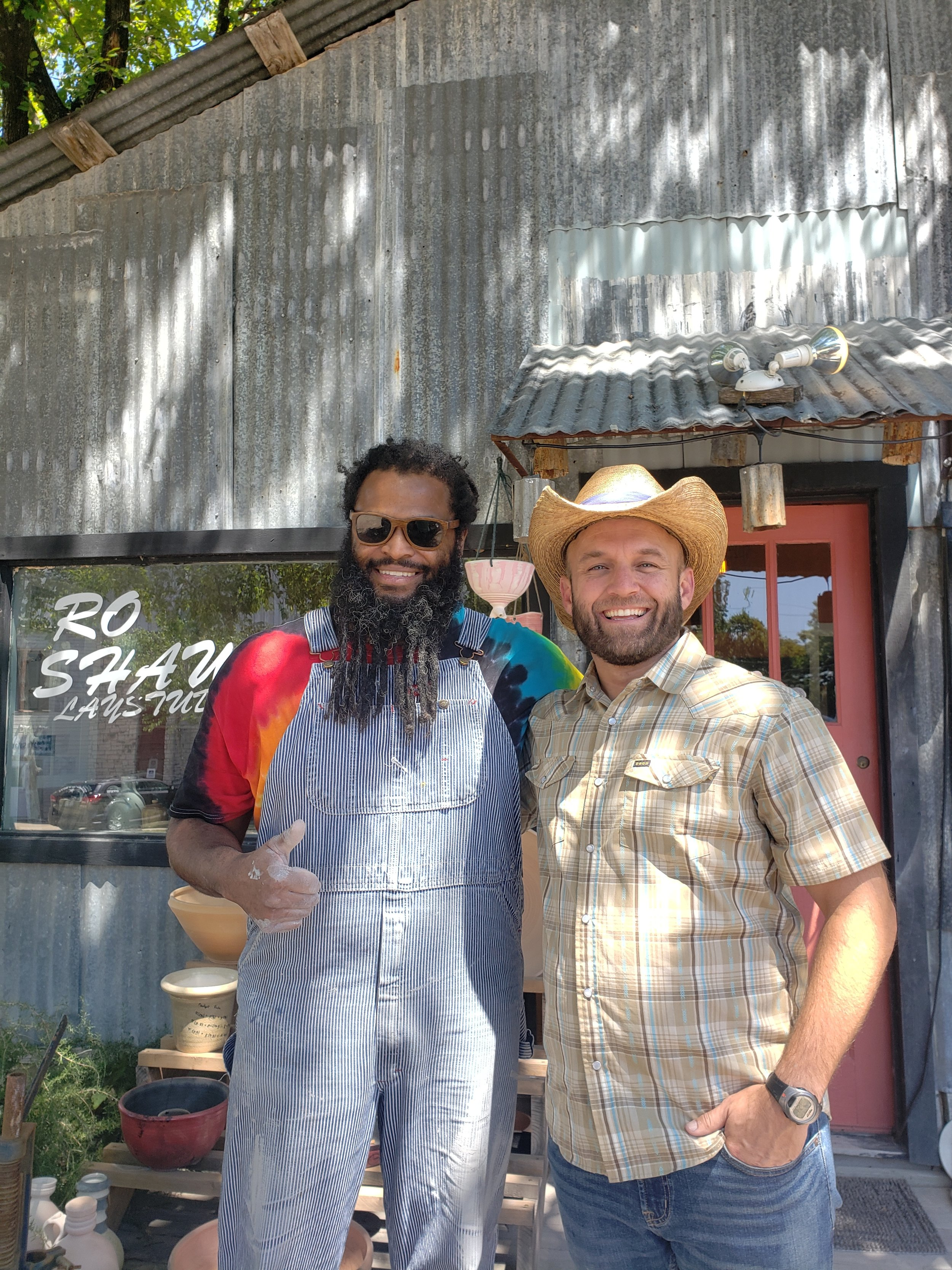 The Daytripper Chet Garner visited the studio last week to do a segment on Salado!