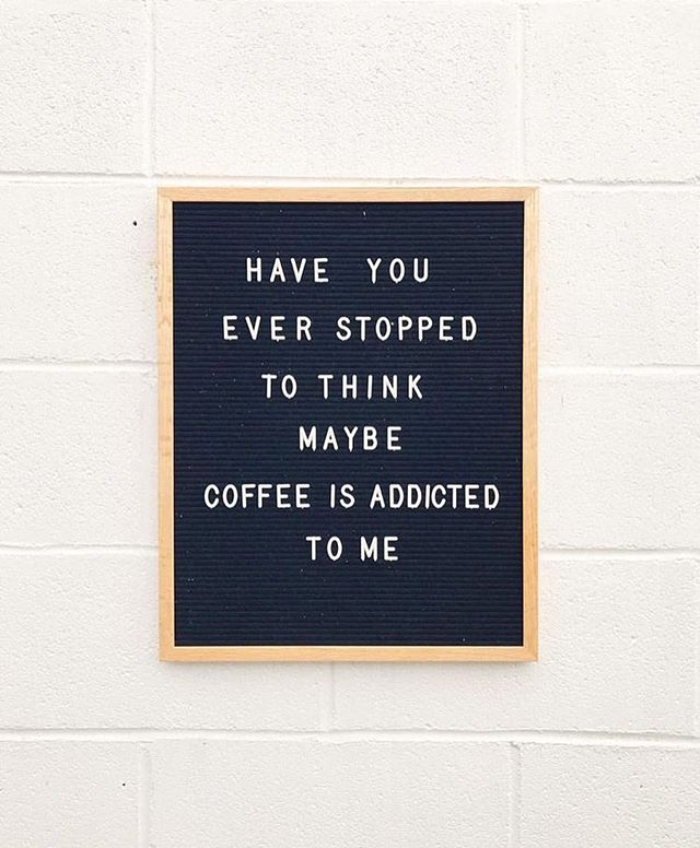 Especially on weeks/months like this one! ☕️☕️☕️ #wednesday #onthego