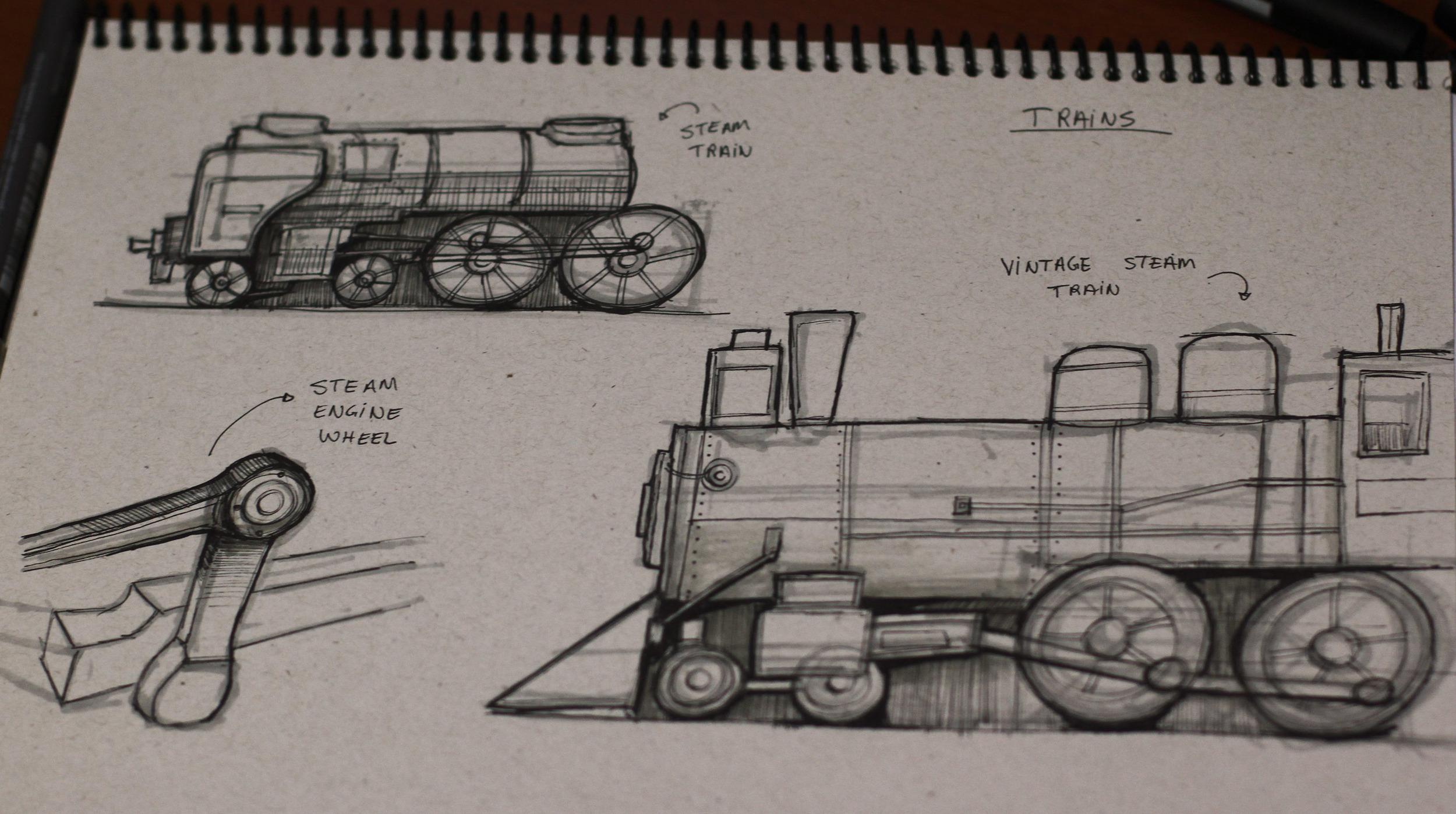 Train studies