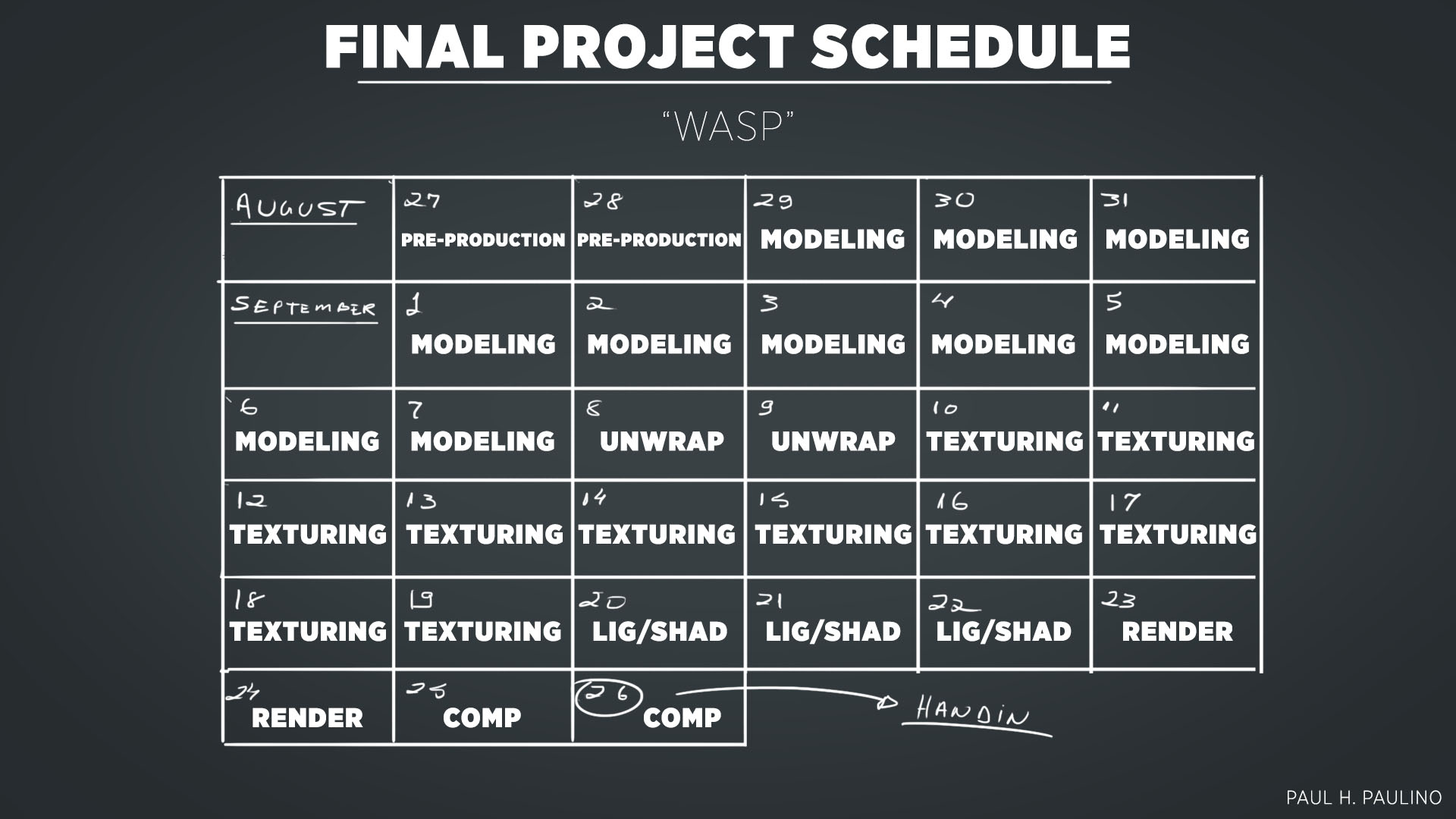 Paul_Schedule