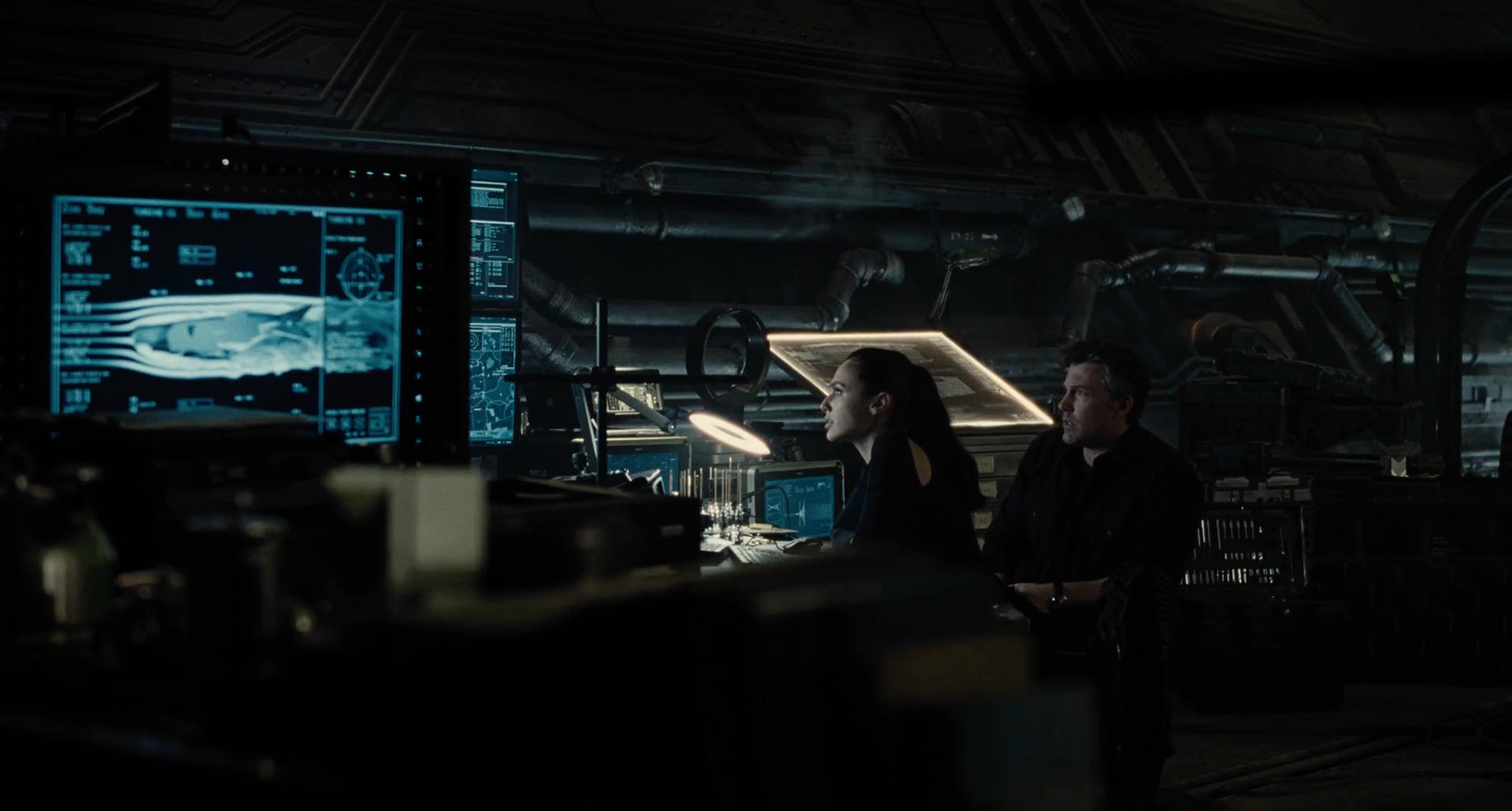 Finding a job can be harder than finding metahumans - Screenshot from Justice League (2017) trailer.