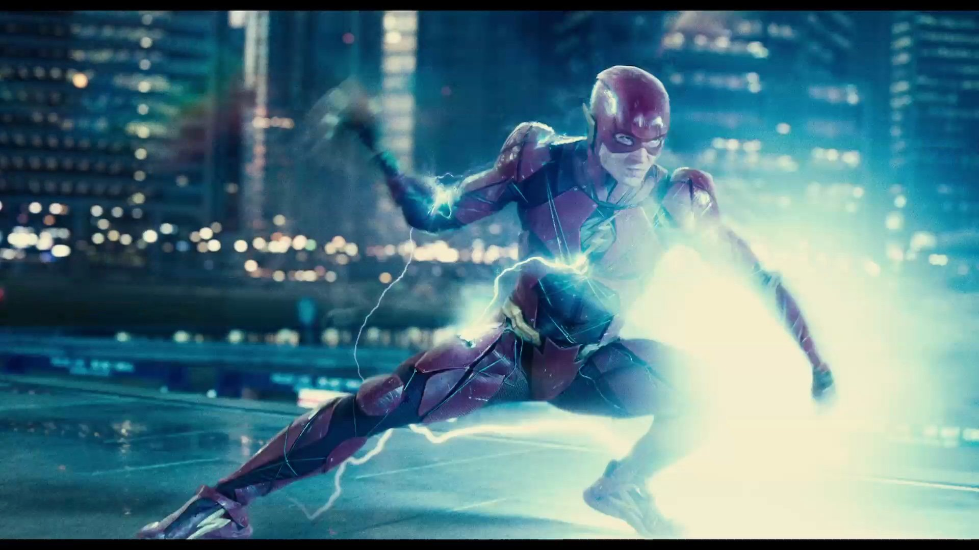 I'm not asking you to be just like Flash...But if you can... - Screenshot from Justice League (2017) trailer.