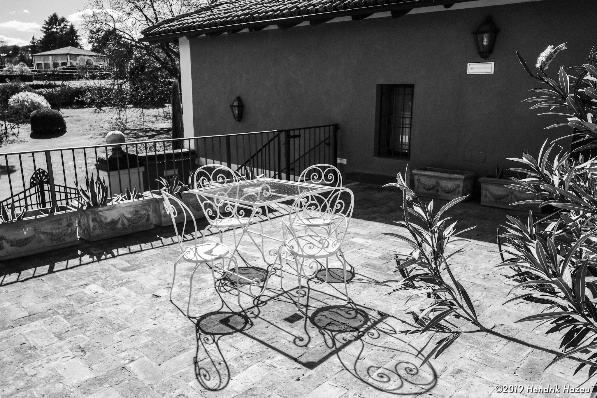 This was our terrace in Cà Palazzo Malvasia from which the first image was taken: Fuji X-H1 & XF 18 mm @f/8