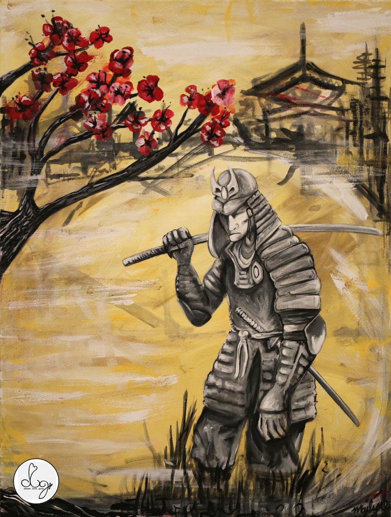 COMMISSION FOR: DJ2CREAMZ ARTIST: Mailyne aka MAI Acrylic on Canvas