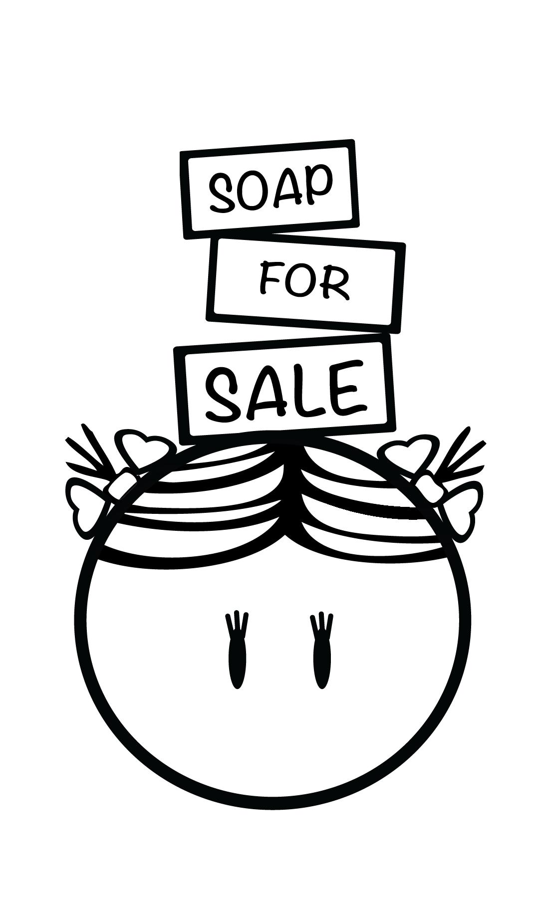 soap for sale, custom logo