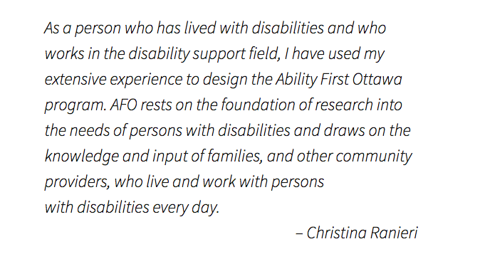 ability first ottawa christina ranieri