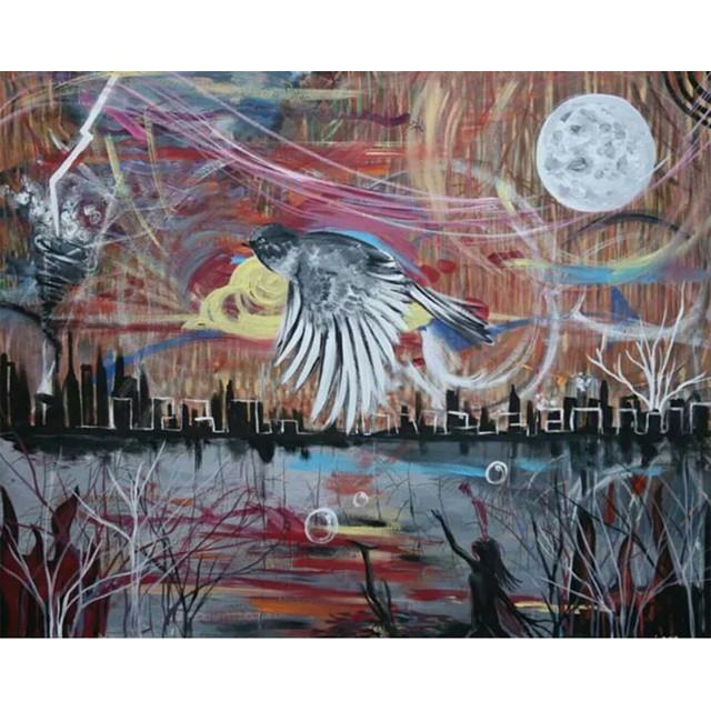 fly away i am mai abstract bird painting dream love grow.jpg