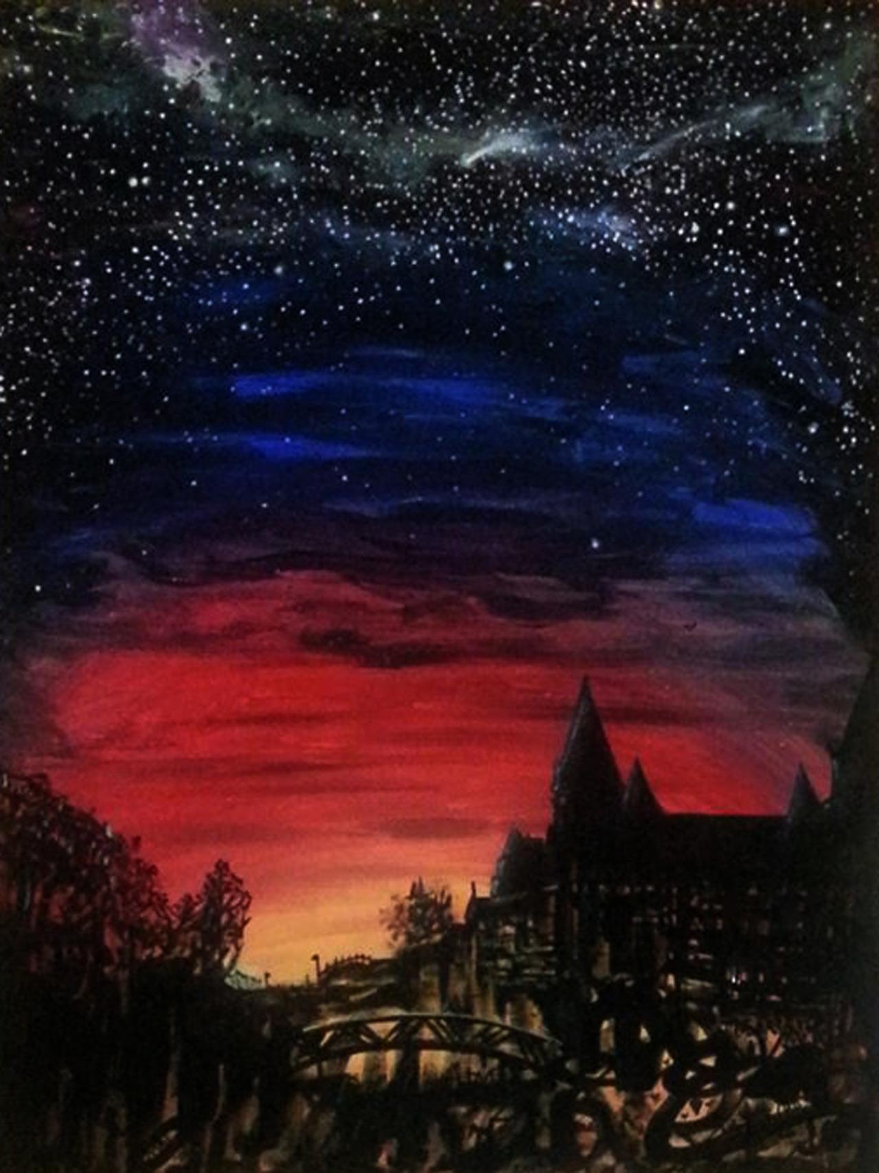 chateau laurier at night i am mai ottawa art.jpg