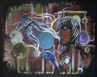 bird smoke painting i am mai artist.jpg