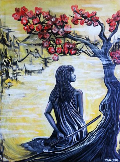 i am mai japanese style painting dream love grow .jpg