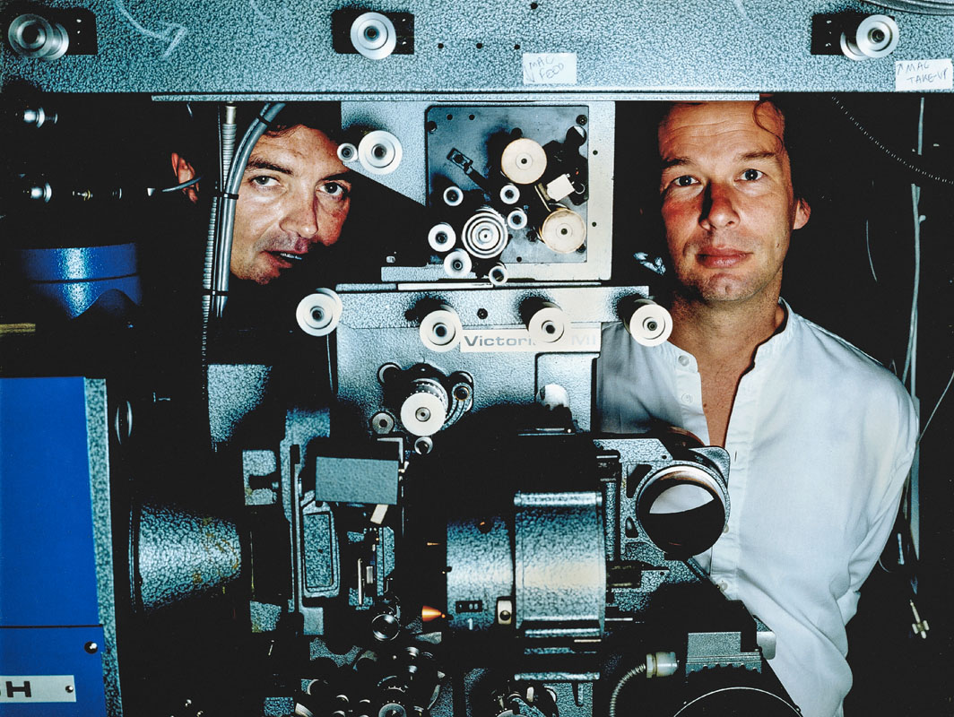 Mick May & Jonathon Cavendish, film backers