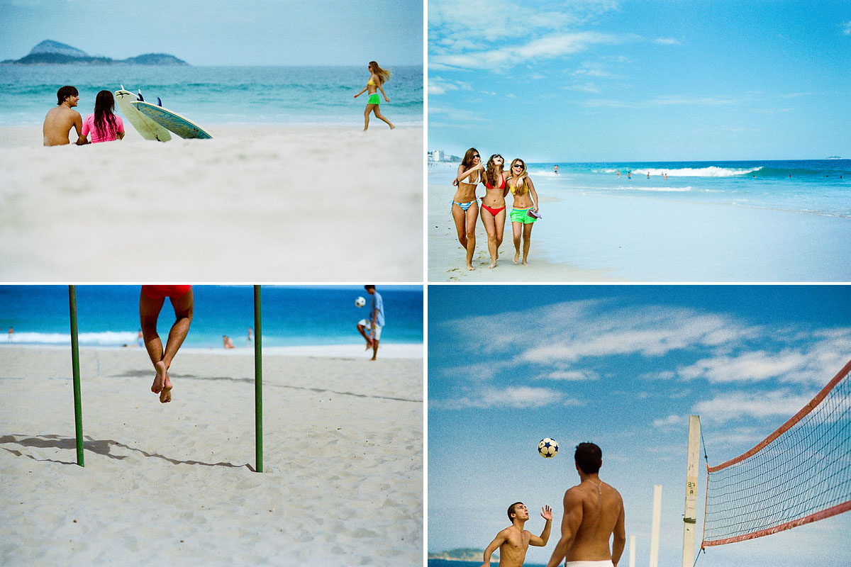Beach life, Rio de Janeiro, Brazil