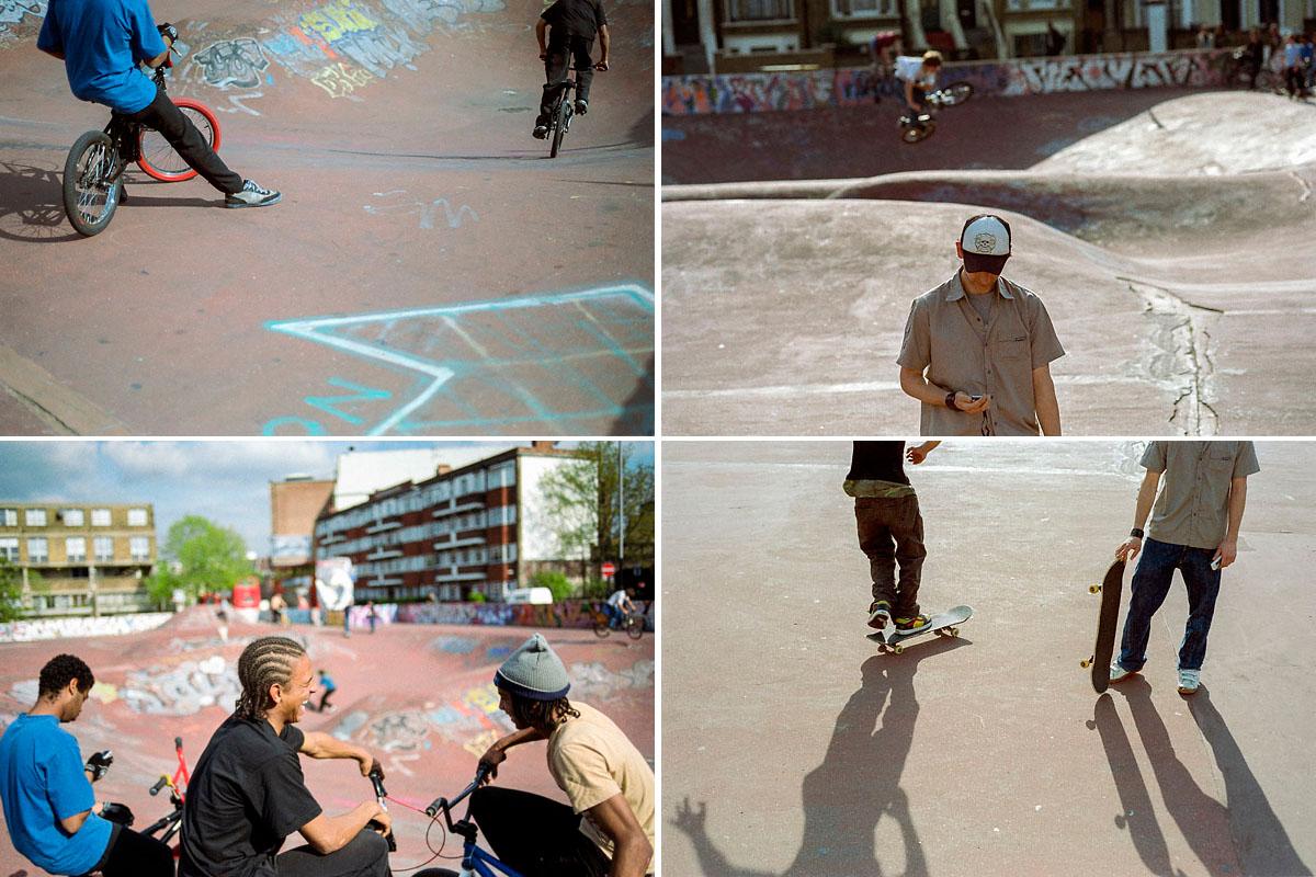 Skate Park, Brixton, London