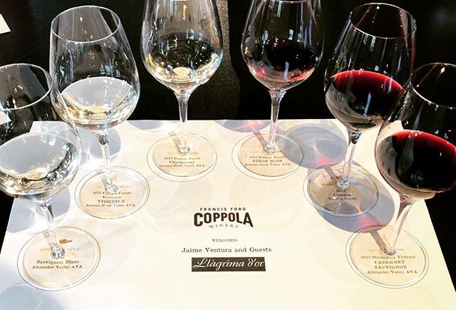 Just visited @coppolawine. The wellcome was excellent. We will come back! Thanks for everything! . . . . #llagrimador #catalunyaexperience #tradition #francisfordcoppola #coppolawinery #coppola #familytradition #wineries #winerytour #winetasting #igersoftheday #igerscatalunya #igerspenedes #igerswine #igerscava #experience #napa #sonoma #vino #wine #winelover #ilovewine #cellar #bodegas #work #enoturisme #enoturismo