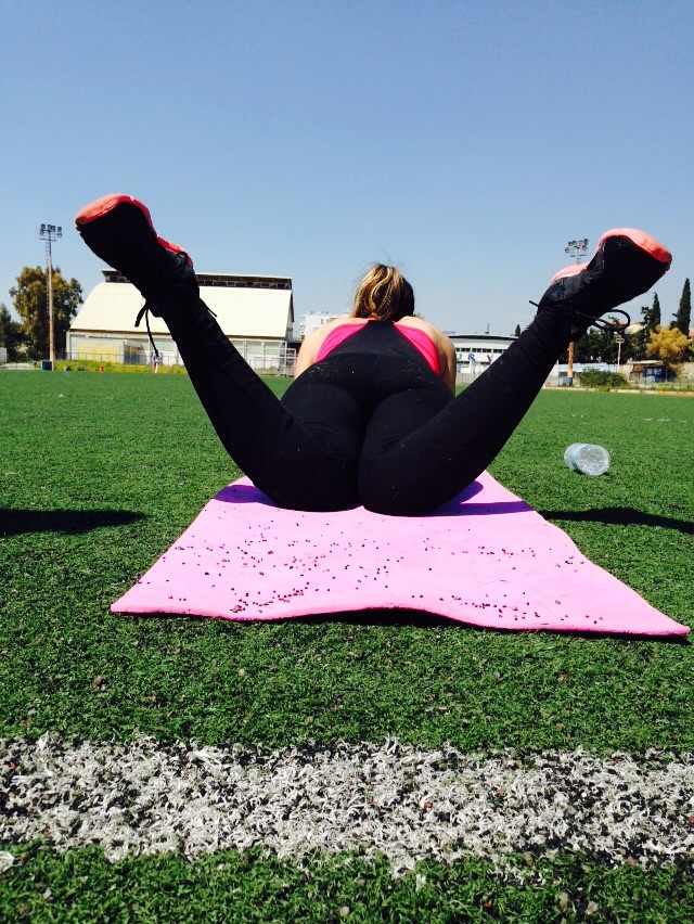 Prone Hip internal rotation (about 40 degrees)