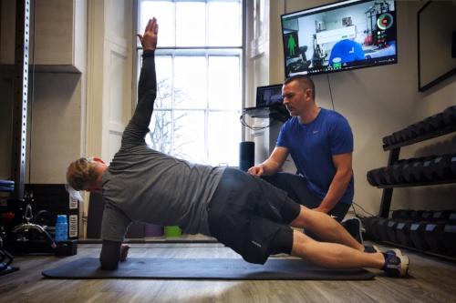 Side plank - RPT Edinburgh