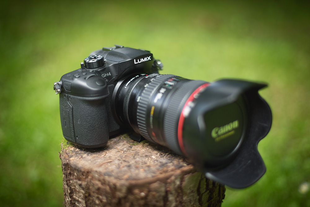Gh4 with canon 24-105mm