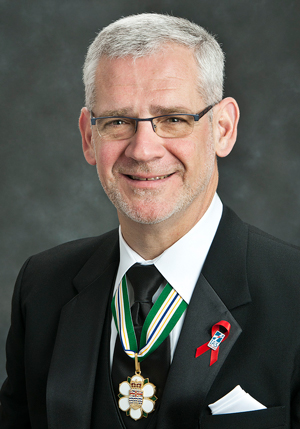 Figure 1:  Dr. Julio S. G. Montaner.  Photo by the Order of British Columbia.