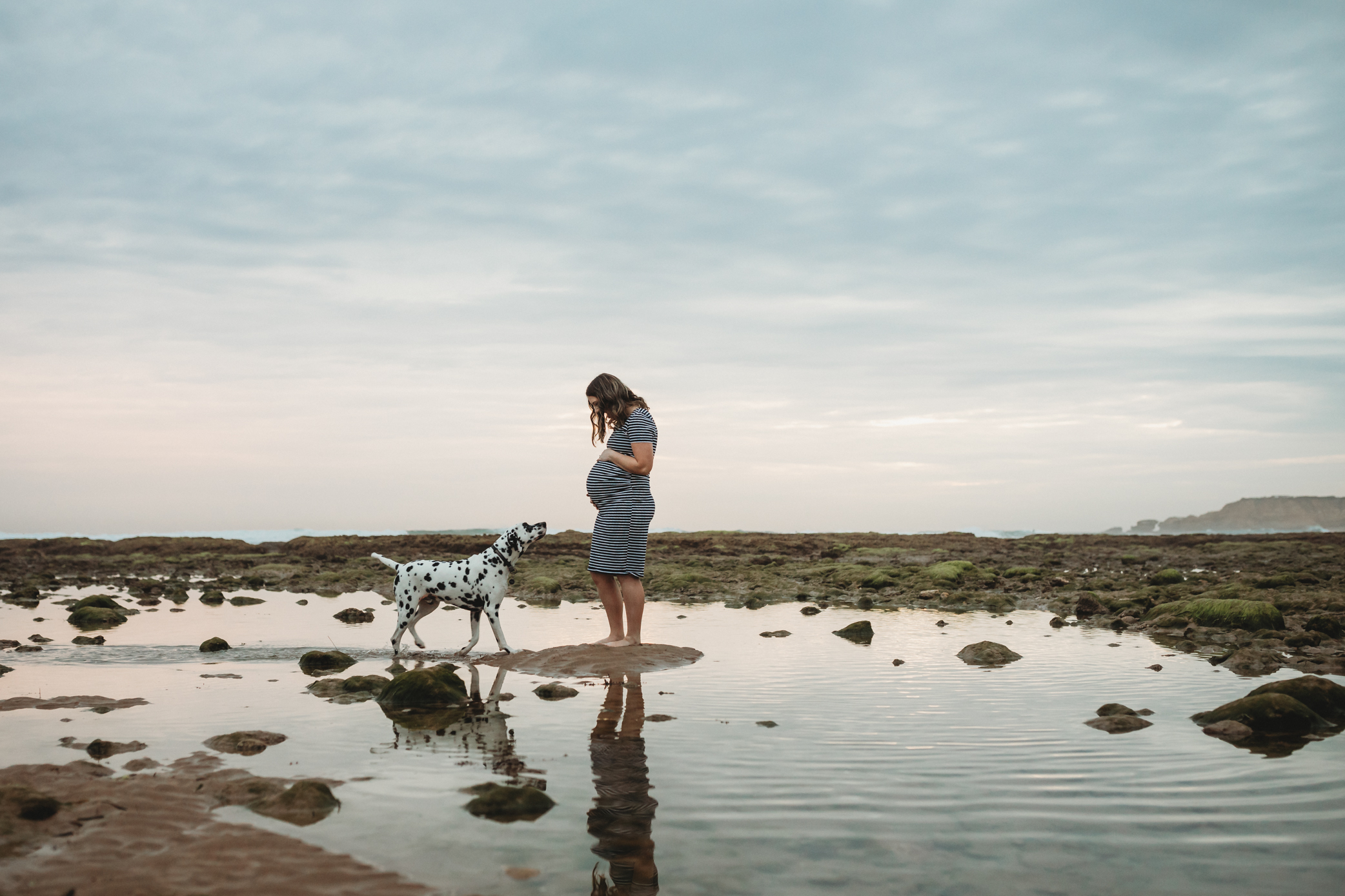 Lifestyle photography in Geelong on the beach