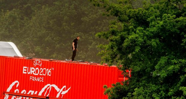 On top: a study has found Coca-Cola to be the most attractive sponsor of Euro 2016, followed by beer giants Heineken and Carlsberg. Photograph: AFP/Getty Images