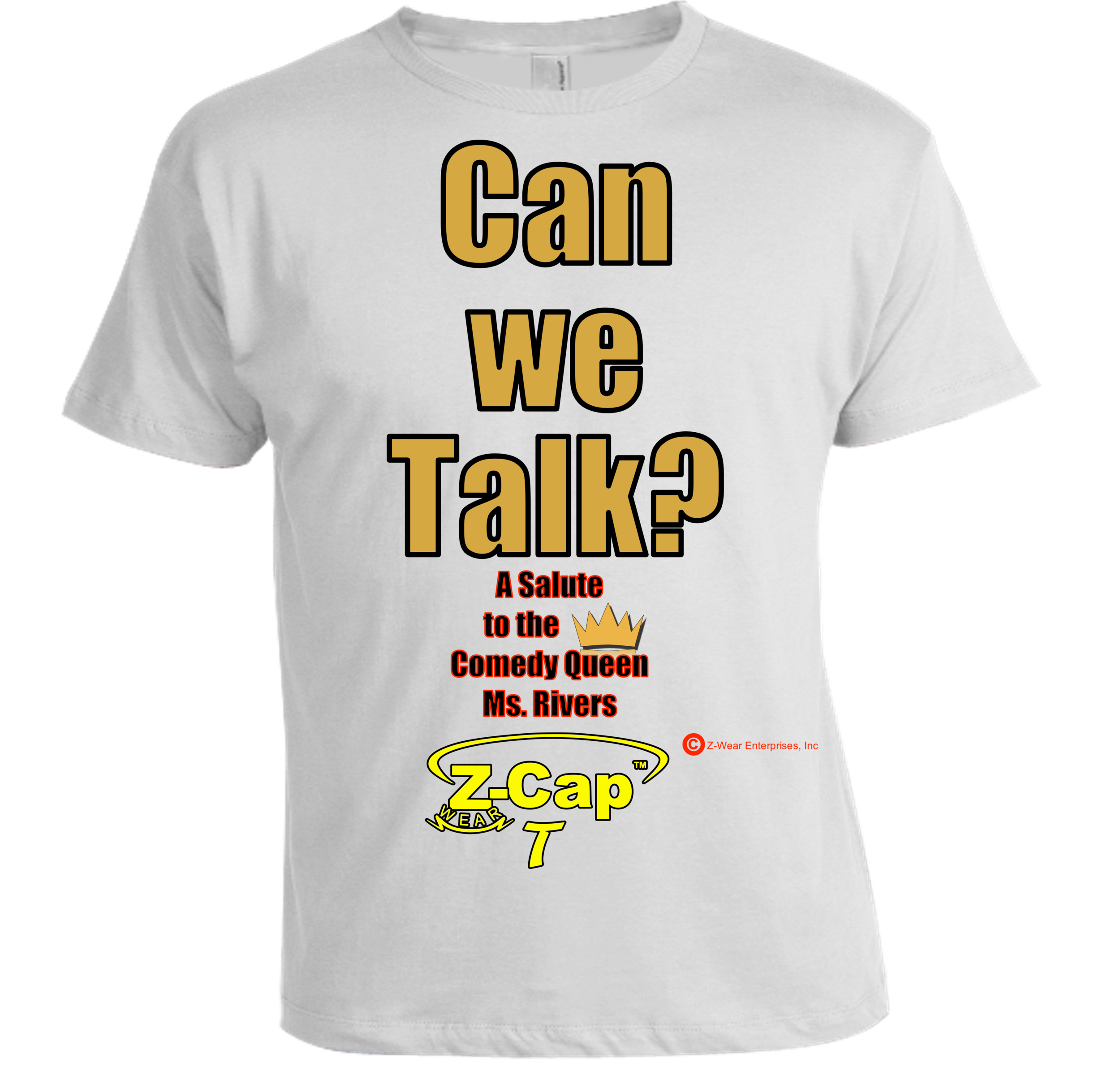 Can We Talk? Shirt- White.png