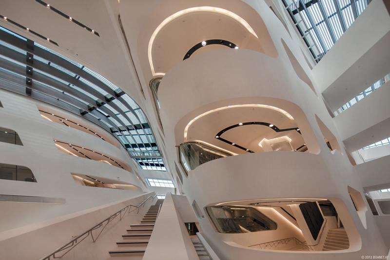 WU Campus, Vienna. Photo: BOANET.AT