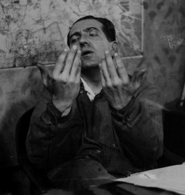 Fritz Lang (1890-1976) Director, author, actor, immigrated 1934 (ÖNB/FO300262/01)