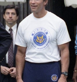 Arnold Schwarzenegger (1947- ) Bodybuilder, actor, Governor of California (2003-2011), immigrated 1968