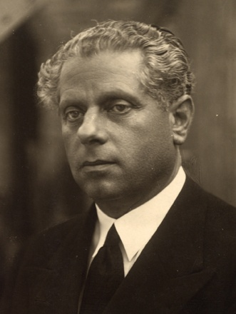 Max Reinhardt 1873-1943 Theater director immigrated 1937 (c)NB_Pf 496 C3E