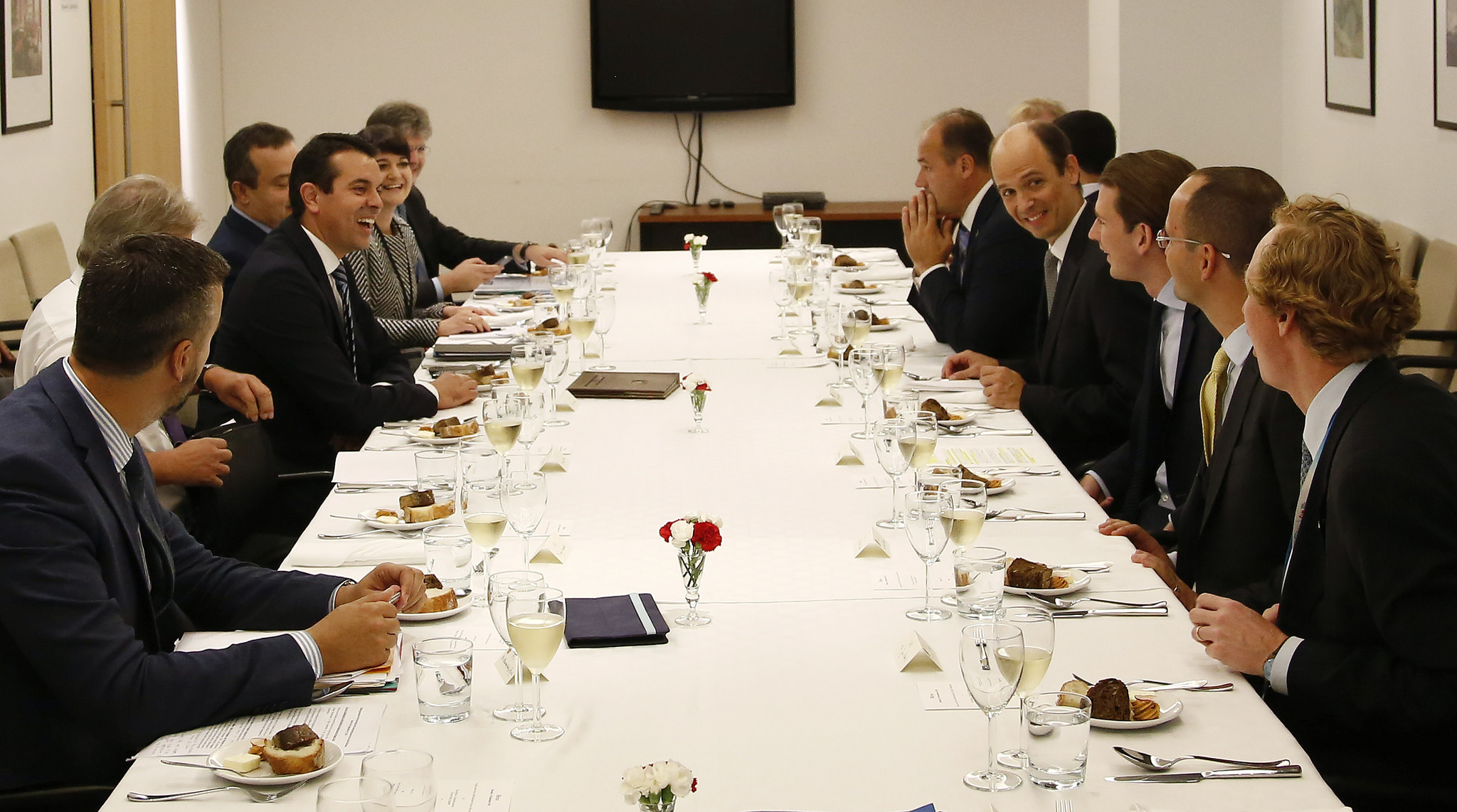 FM Kurz and the Foreign Ministers of the West Bakkan countries. Photo: Dragen Tatic