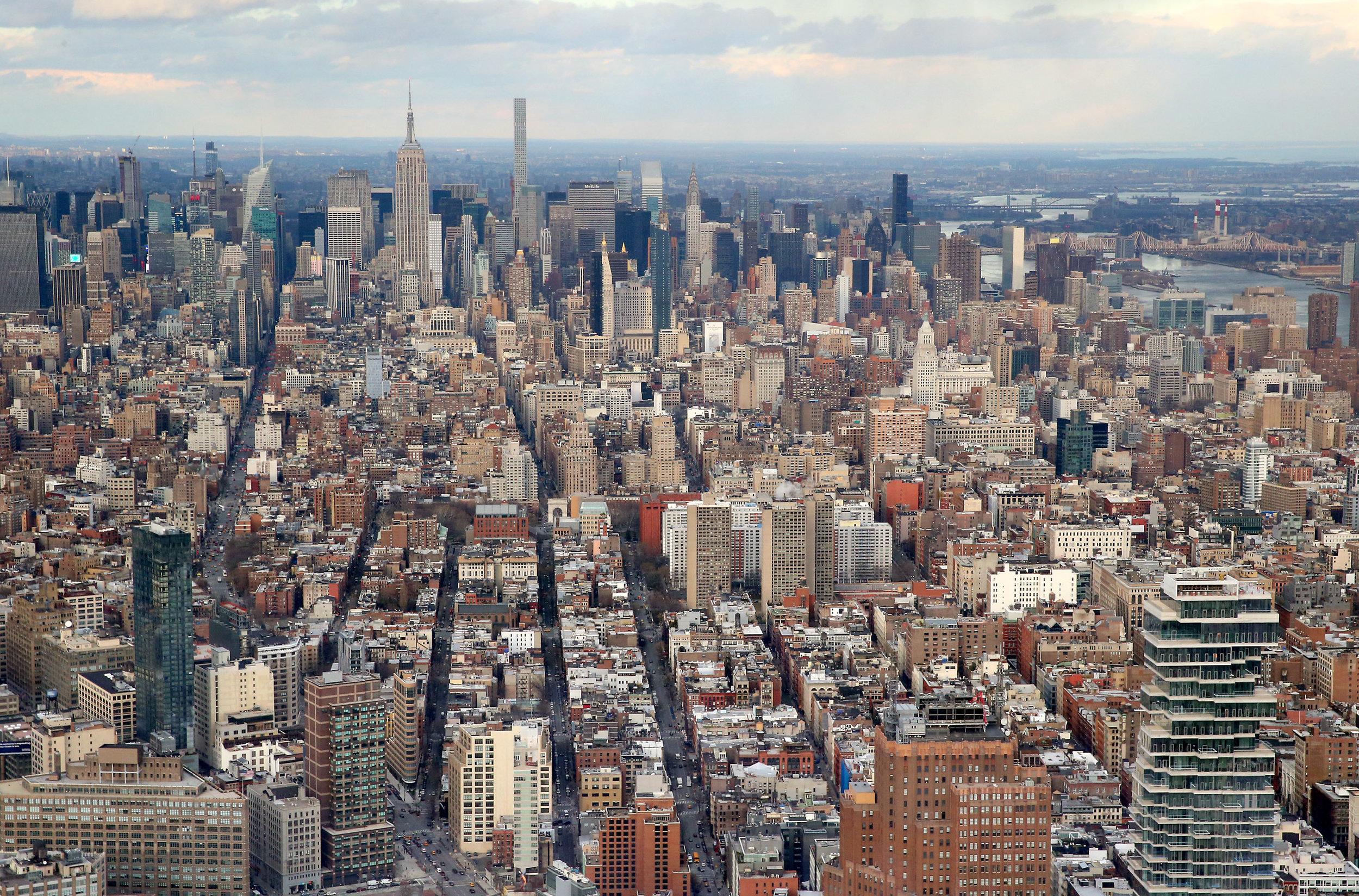 Manhattan from above, 2017 © State of Upper Austria / Denise Stinglmayr