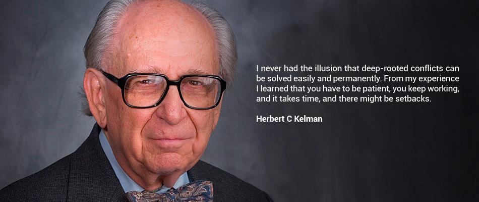 Photo: Herbert C. Kelman Institute