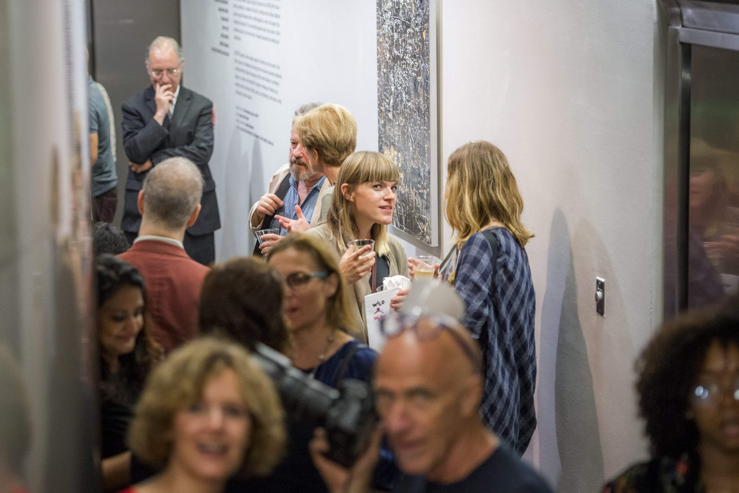 WILD WEST  Opening Reception, September 19, 2017, at the Austrian Cultural Forum New York, Photo: David Plakke/ACFNY